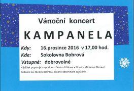 Vánoční koncert KAMPANELA