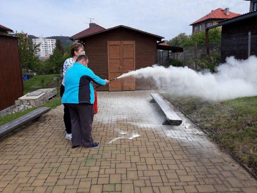 Cvičný požární poplach ve Zdislavě
